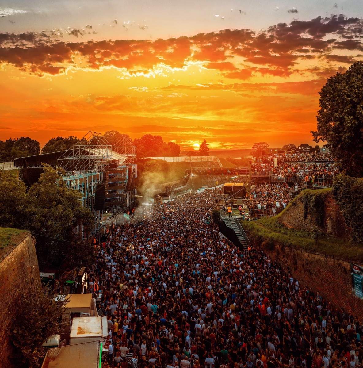 Can't get No Sleep: Going the extra mile at Exit Festival in Serbia